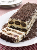 Terrine of Tiramisu — Stock Photo