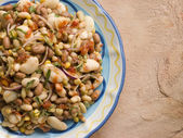 Tuscan Bean Salad — Stock Photo