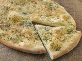 Garlic Pizza Bread — Stock Photo
