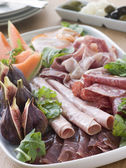 Platter of Affettati Misti — Stock Photo