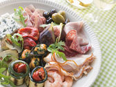 Platter of Antipasto — Stock Photo