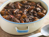 Carne con Chocolate — Stock Photo