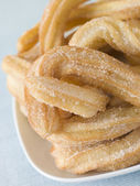 Plate of Churros — Stock Photo