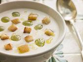 Ajo Blanco- White Garlic Soup — Stock Photo
