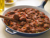 Albondigas con Salsa — Stock Photo