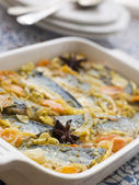 Escabeche of Sardines — Stock Photo