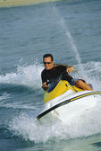 A man on a jet ski — Stock Photo
