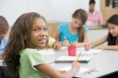 教室での小学校 — ストック写真