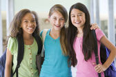 Group of elementary school friends — Stock Photo