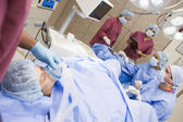 Patiënt ondergaat, ei ophalen procedure — Stockfoto