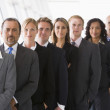 Line of office staff — Stock Photo #4760039