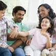 Stock Photo: Middle Eastern family