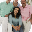 A Middle Eastern family — Stock Photo
