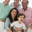 Stock Photo: A Middle Eastern family
