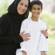 Happiness, Happy, Togetherness, Middle Eastern, Lifestyle, Famil — Stock Photo