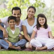 Family having picnic — Stock Photo #4760817