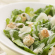 Bowl of Caesar Salad - Stock Photo