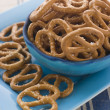 Bowl of Pretzels - Stock Photo