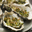 Royalty-Free Stock Photo: Platter of Oysters Rockefeller