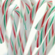 Christmas Peppermint Candy Sticks - Stock Photo