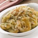 Dish of Lyonnaise Potatoes — Stock Photo #4765568