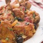 Sauted Chicken Provencale — Stock Photo #4765628