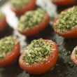 Oven Roasted Tomatoes with a Provencale Crust — Stock Photo