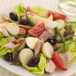 Stock Photo: Salad of TunNicoise