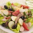 salad of tuna nicoise — Stock Photo