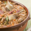 Stock Photo: Cassoulet