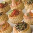 Selection of Cocktail Vol au Vents — Stock Photo #4765713