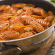 Vichy Carrots in Saute Pan — Stock Photo #4765737