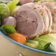 Pot au Feu Belly Pork Sliced - Stock Photo