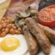 pełne śniadanie angielskie — Zdjęcie stockowe