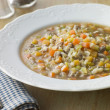 Bowl of Scotch Broth — Stock Photo