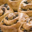 Stok fotoğraf: ChelseBuns on cooling rack