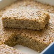 Flapjack in a Baking Dish — Stock Photo