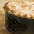 Deep Apple Pie in a Baking Tin — Stock Photo #4766357