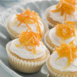St Clements Cup Cakes — Stock Photo
