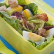 Royalty-Free Stock Photo: Bacon and Egg Salad Lunch Box
