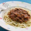 Spaghetti Bolognaise — Stock Photo