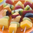 Fruit Kebabs — Stock Photo