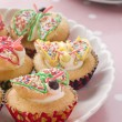Butterfly Cup Cakes — Stock Photo #4767603