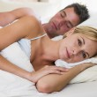 Couple in bed — Stock Photo #4767668