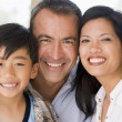 Family together smiling — Stock Photo #4768365