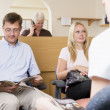 Waiting room and reception desk — Stock Photo #4769413