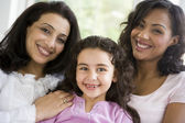 The women of Middle Eastern family — Stock Photo