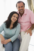An older Middle Eastern couple — Stock Photo