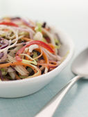 Dish Of Seeded Slaw — Stock Photo