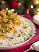 Coronation Turkey Rice Salad — Stock Photo